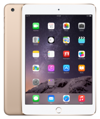 Apple iPad mini 3 16Gb Wi-Fi + Cellular Gold