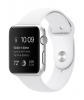 Apple Watch Sport 42mm Silver Aluminum Case with White Sport Band