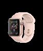 Apple Watch Series 4 GPS, 40 мм, алюминий золотого цвета, спортивный ремешок цвета розовый песок